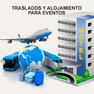 Alojamiento y traslados para Eventos