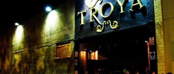 Entrada discoteca Troya Elche