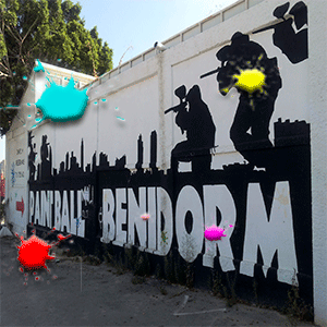 paintball benidorm cartel