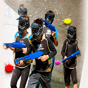 Paintball Benidorm infantil