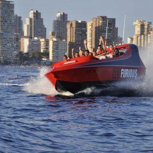 Lancha rapida Jet boat Experiencias Unicas