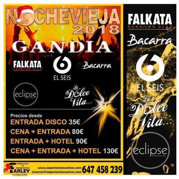 Fin de año 2018 en Gandia Falkata