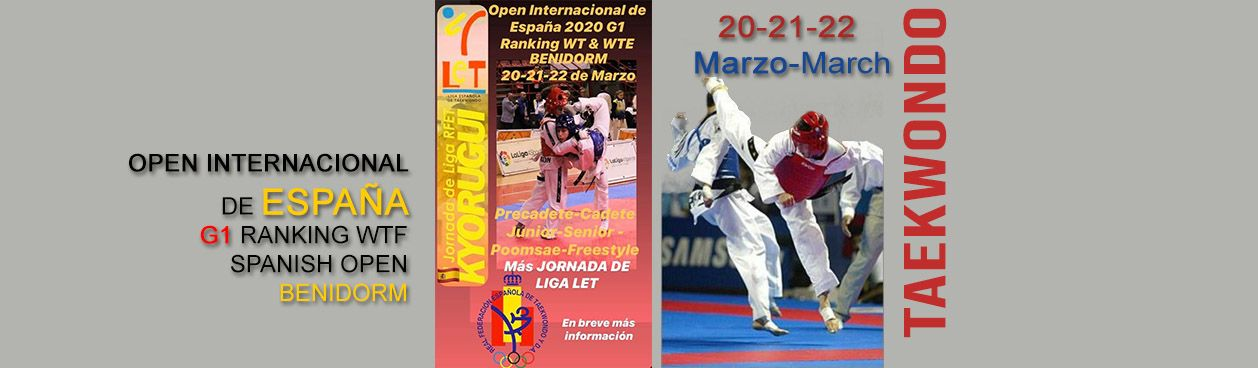 Taekwondo open internacional spain 2020, Benidorm