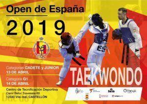 VILA REAL Taekwondo open internacional España 2019
