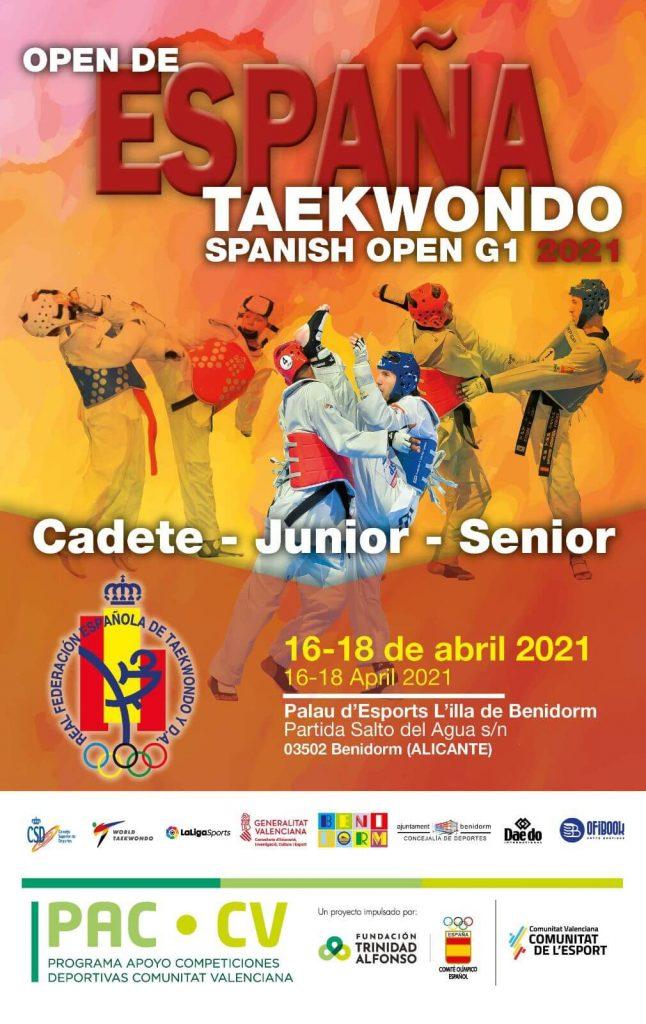 Taekwondo open internacional España Benidorm 2021